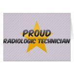Proud Radiologic Technician Greeting Cards