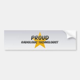 Proud Radiologic Technologist Bumper Stickers
