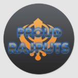 Proud Rajputs, Rajputs pride Round Sticker