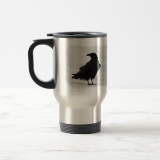 Proud Raven Travel Mug