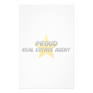 Proud Real Estate Agent Stationery