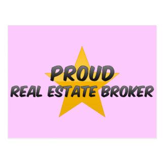 Proud Real Estate Broker Post Cards