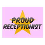 Proud Receptionist Postcards