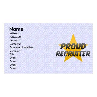 Proud Recruiter Business Card
