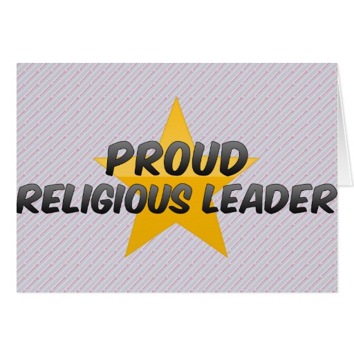 Proud Religious Leader Cards