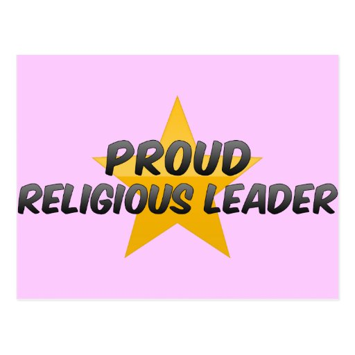 Proud Religious Leader Post Cards