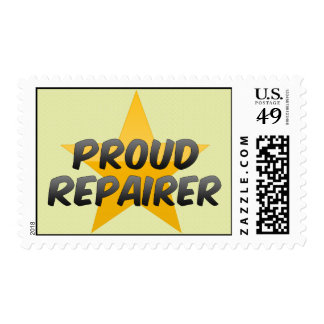 Proud Repairer Postage Stamps