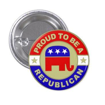 TheRepublicanShop Proud Republican Button