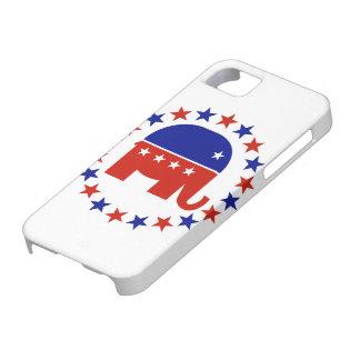 Proud Republican Circle Stars iPhone SE/5/5s Case
