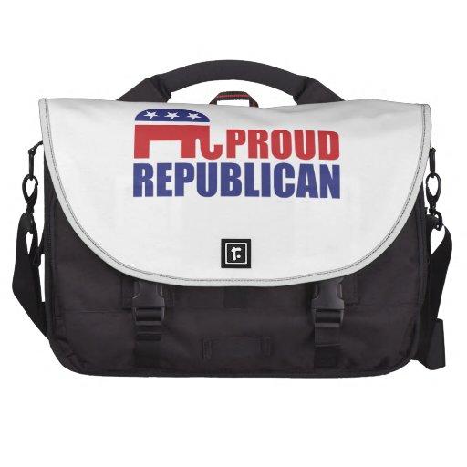 Proud Republican Elephant Commuter Bag