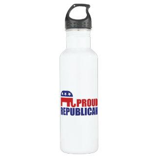 Proud Republican Elephant Water Bottle