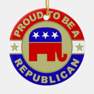 Proud Republican Ornament