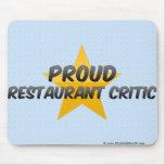 Proud Restaurant Critic Mouse Pad