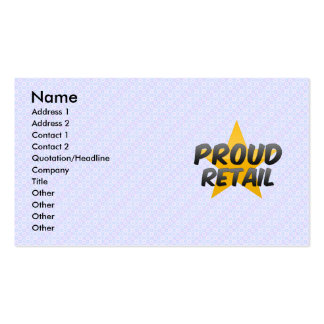 Proud Retail Business Card
