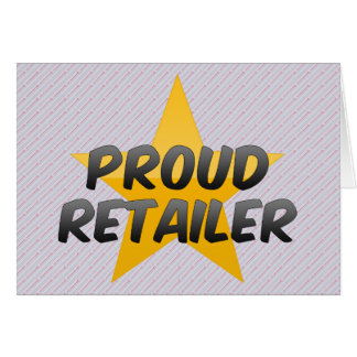Proud Retailer Card