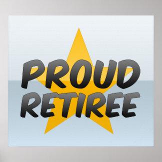 Proud Retiree Print
