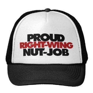Proud right wing nut job trucker hat