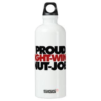 Proud right wing nut job water bottle