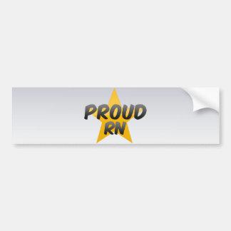 Proud Rn Bumper Sticker