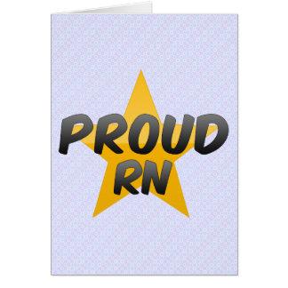 Proud Rn Card