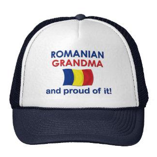 Proud Romanian Grandma Trucker Hat