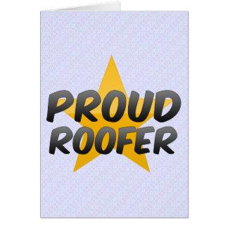 Proud Roofer Card