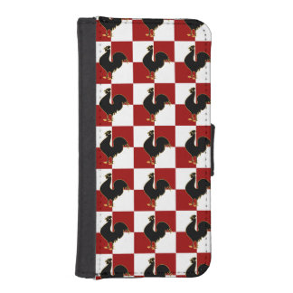 Proud Rooster American Country Style iPhone SE/5/5s Wallet Case