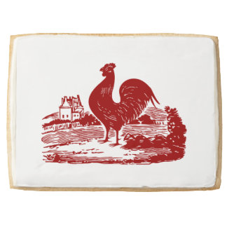 Proud Rooster American Country Style Jumbo Cookie