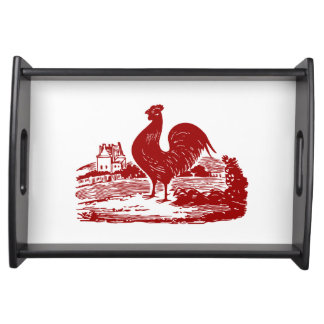 Proud Rooster American Country Style Service Tray