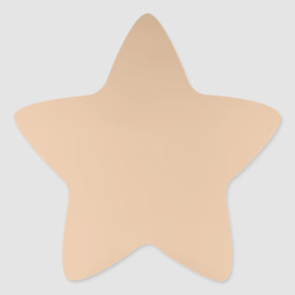 Proud rose Gold star sticker