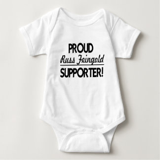Proud Russ Feingold Supporter! Baby Bodysuit
