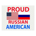 Proud Russian American Post Cards