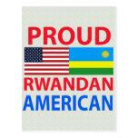 Proud Rwandan American Postcard