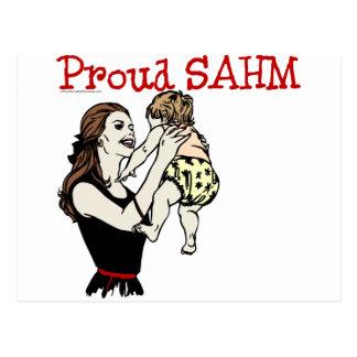 Proud SAHM Postcard
