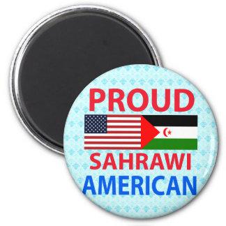 Proud Sahrawi American Refrigerator Magnet