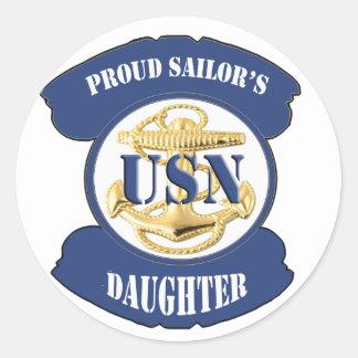 Proud Sailor s Daughter Sticker