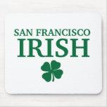 Proud SAN FRANCISCO IRISH! St Patrick's Day Mouse Pad