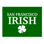Proud SAN FRANCISCO IRISH! St Patrick's Day Postcard