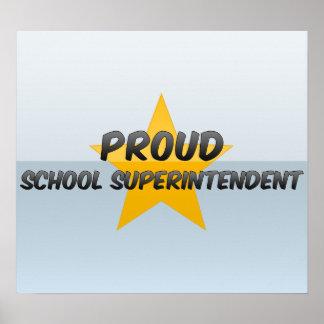 Proud School Superintendent Poster