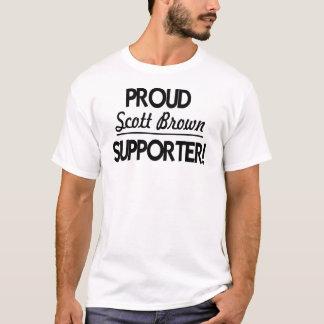 Proud Scott Brown Supporter! T-Shirt