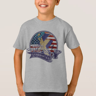 Proud Scottish American Children's T-Shirt