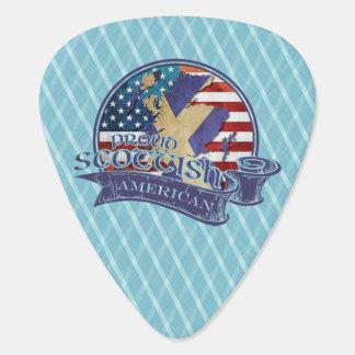 Proud Scottish American Guitar Pick