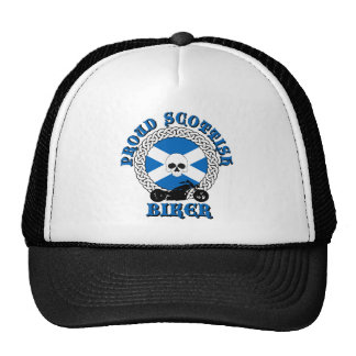Proud Scottish Biker Mesh Hats