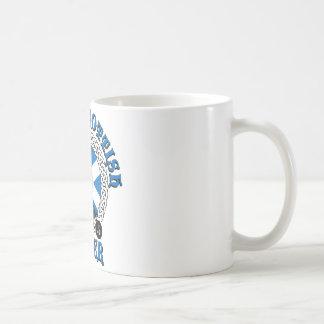 Proud Scottish Biker Coffee Mugs