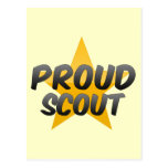 Proud Scout Post Card