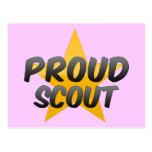 Proud Scout Postcard