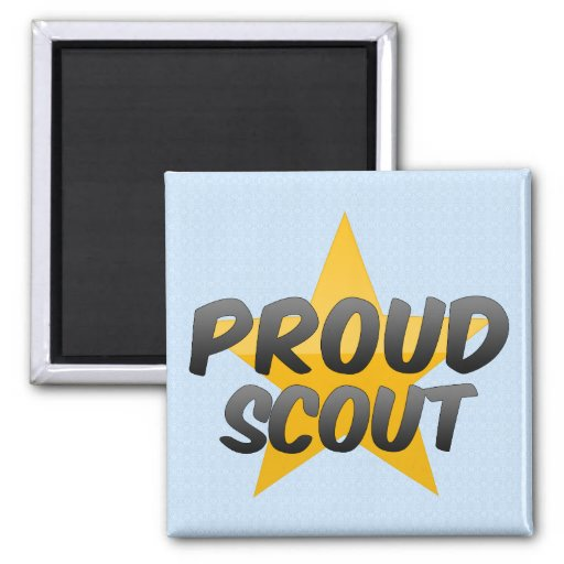Proud Scout Refrigerator Magnet