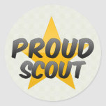 Proud Scout Stickers