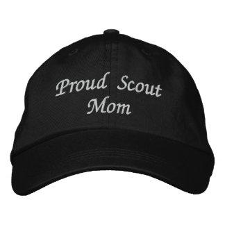 Proud ScoutMom Baseball Cap