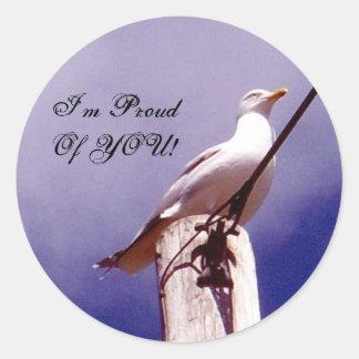 Proud Seagull Sticker